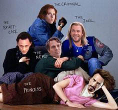 The Avengers Club. I don't care how much you love The Breakfast Club. You don't like avengers, you don't pin this.