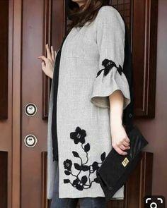 Best 12 Our females' vests and find elegant quilted gilets of highest-quality,… - Mode Frauen Abaya Fashion, Muslim Fashion, Fashion Dresses, Batik Fashion, Modest Dresses, Casual Dresses, New Yorker Mode, Mode Abaya, Bohemian Mode