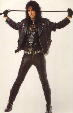 Alice Cooper. Definitely one of those times when you cannot judge a book by its cover. He is truely an amazing man.