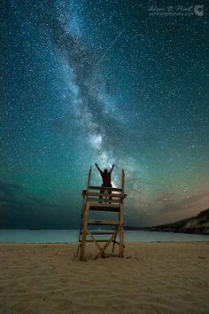 Milky Way Symphony Sand Beach, Acadia National Park, Maine, July 1, 2014,…