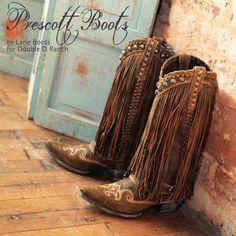 amazing fringe boots!