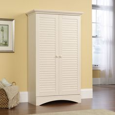 Image result for farmhouse style free-standing kitchen storage cupboard