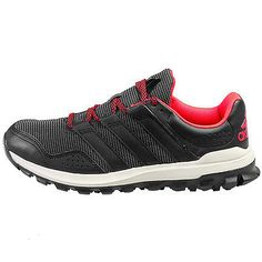 cheap for discount a035a aeed1 Adidas Slingshot Tr Mens B23254 Black Grey Red Trail Running Hiking Shoes  Sz 10