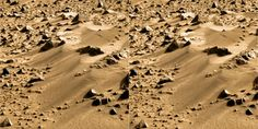 2012 during the Curiosity mission, of the surface of mars.