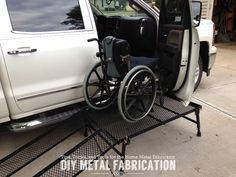Part 3 of our DIY Wheelchair Transfer Platform build! Click to check out pictures of it completely assembled and in use!