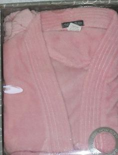 Hotel Collection Pink Bath Robe Set with Robe, Hair Towel and Mesh Sponge NWT mother's day sale 5% off!