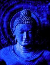 """Though one should live a hundred years without wisdom and control, yet better, indeed, is a single day's life of one who is wise and meditative. Gautama Buddha, Buddha Buddhism, Buddha Art, Love Blue, Blue And White, Color Blue, Blue Chakra, Art Nouveau, Rainbow Aesthetic"