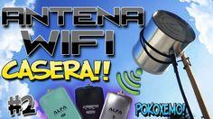 Como Hacer una Antena Wifi Casera con un Bote de Lamina Facil [Parte #2]...