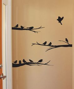 Another great find on #zulily! Birds on Branches Mural Wall Quotes™ Decal #zulilyfinds