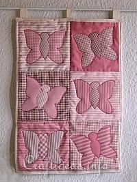 Patchwork and Sewing Craft - Butterfly Quilt 200