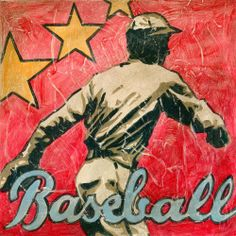 Oopsy daisy Baseball Star Stretched Canvas Art by Aaron Christensen, 12 by 12-Inches by Oopsy daisy, Fine Art for Kids. $64.74. No framing required. Giclee on canvas. Sawtooth makes it easy to hang. Made in the Unites States. Wipes clean with damp cloth. Our children's stretched canvas wall art reproductions are created in Oopsy daisy's San Diego studios where we print in the best digital method currently available, achieving great clarity and color resolution in each piec...