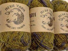 100% WOOL YARN FANTASY set of 3x50g. Great for knitting