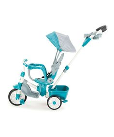 Another great find on #zulily! Little Tikes Teal Perfect Fit 4-in-1 Trike by Little Tikes #zulilyfinds