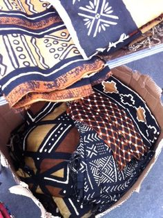african textiles at the Rose Bowl antique market in Pasadena, CA every second sunday of the month