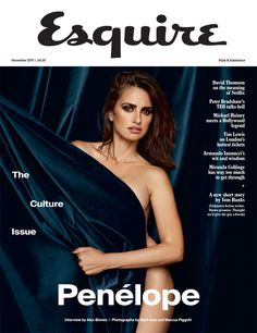 """Penélope Cruz in Esquire UK November 2017 by Mert and Marcus — """"The Irresistible Rise Of Penélope Cruz"""""""