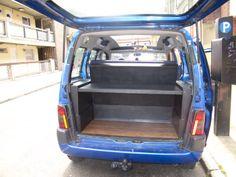 My Citroen Berlingo stealth Micro Camper :) Intéressant pour la couchette arrière !