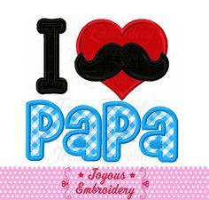 Daddy Day, Applique Embroidery Designs, Ideas Para Fiestas, Baby Milestones, Fathers Day, Decoupage, My Design, Etsy, Scrapbook