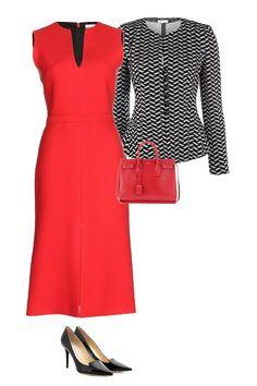 business capsule wardrobe, executive dress women