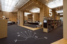 Signage for the Musashino Art University Museum  Library