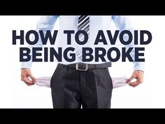 How to Avoid Being Broke - Young Hustlers - YouTube