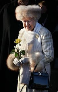Americans have ranked Queen Elizabeth as their sixth most admired woman - behind Sarah Palin and Oprah Winfrey.