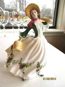 "Royal Albert Old Country Roses Figurine Titled ""Rose"" Excellent Condition 