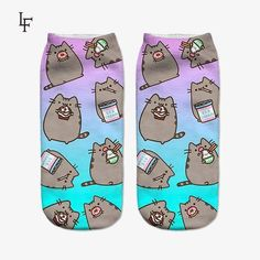 Pusheen Adult Ankle Socks