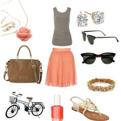 for a day in the bike, created by sofieev on Polyvore