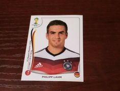 Panini Sticker, Philipp Lahm, Polaroid Film, Ebay, Stickers, Baseball Cards, Bavaria, Football Soccer, Germany