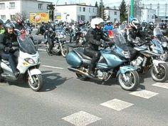 (1) Motocykle - parada - rozpoczęcie sezonu, Poznań - 2013.04.12