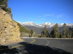 Trail Ridge Road: End of the road- closed for winter at Many Parks Curve