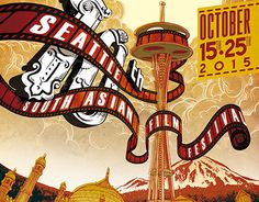 """Check out new work on my @Behance portfolio: """"10th Seattle South Asian Film Festival"""" http://on.be.net/1hv7EyU"""