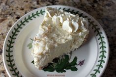 White Chocolate Coconut Pie - can't WAIT! Have been craving coconut lately.