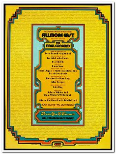 What memories of this place! Leon Russell at Fillmore East by David Byrd Tracy Nelson, Gilbert Shelton, Flying Burrito Brothers, Laura Nyro, Buffy Sainte Marie, Grateful Dead Poster, Leon Russell, Humble Pie, Vintage Concert Posters