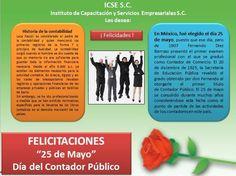 #ICSEMexicalifelicita a la profesión de CONTADOR PUBLICO que se celebra el 25 de Mayo en MexicoRespetuosamente C.P. Magdalena Alvarez Zazueta