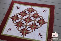 mexican star quilt pattern | quilt and i had a lot of fun quilting it