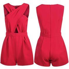 Moda V Cuello de Bodycon Mamelucos Mujeres 's Pantalones Del Mono Clubwear Ropa de Fiesta TH65