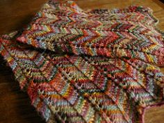 """Favorite Scarf Ever"" (See ""Projects"" for many different colorway ideas)   <   Free pattern   /   RAV"