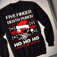 87bec150921d7c Five Finger Death Punch Christmas Sweater