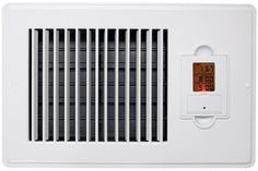 Vent-Miser 91667 Programmable Enery Saving Vent, 10 by 6-Inch, White