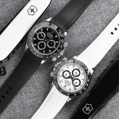 Do you match your straps to your dials? We do and we're loving this look on the Rolex Daytona! . . Customize your Rolex at www.everestbands.com Rolex Watches, Watches For Men, Rolex Tudor, Swiss Made Watches, Sports Models, Rubber Watches, Watch Companies, Rolex Daytona, Watch Bands
