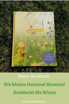 Kinderbuch, Natur Sachbuch, Bilderbuch, für Kinder, Lernen, Lesen, Rezension, Kleine Hummel Bommel Entdeckt die Wiese