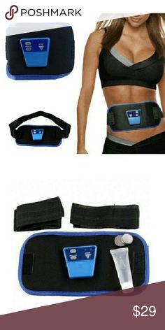 ABGymnic AB Gymnic Electronic Body Muscle Arm leg ABGymnic AB Gymnic Electronic Body Muscle Arm leg Waist Abdominal Massage Exercise Toning Belt Slim Fi Intimates & Sleepwear Shapewear