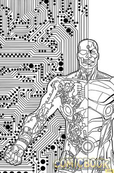 55 best DC Comics Coloring Book images on Pinterest | Coloring books ...