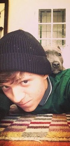 ❤️Tom and Tessa❤️>>> tom and his dog apparently