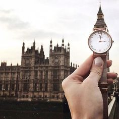 Take your watch with you on your next trip like @igawysocka | kapten-son.com
