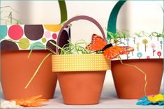 Unique twist to traditional Easter baskets.