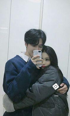 Mode Ulzzang, Ulzzang Korea, Korean Ulzzang, Ulzzang Girl, Japanese Couple, Korean Couple, Best Couple, Cute Couples Goals, Couple Goals