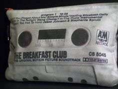 Breakfast Club Soundtrack Retro 80s Cassette Tape Clutch...I'd probably kill someone for this now.