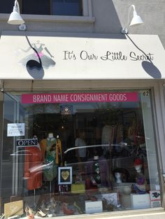 It's Our Little Secret Consignment Store, Brand Name Consignment Goods! Brand Names, The Secret, Store, Outdoor Decor, Tent, Shop Local, Larger, Business, Storage